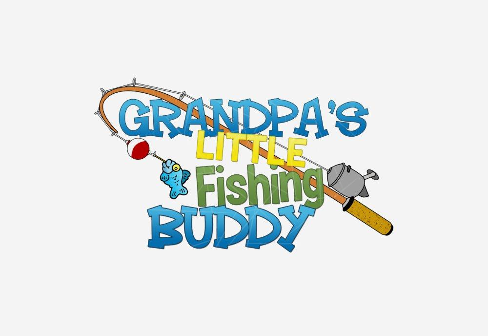 Download Grandpas Little Fishing Buddy Png Free Download Files For Cricut Silhouette Plus Resource For Print On Demand