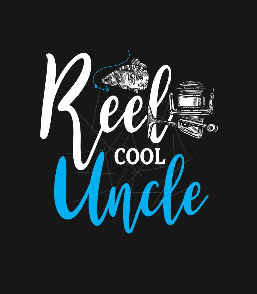 Download Reel Cool Uncle Fisherman Fish Loving Family Gift Png Free Download Files For Cricut Silhouette Plus Resource For Print On Demand