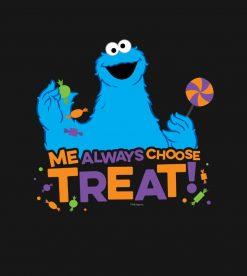 Cookie Monster - Me Always Choose Treat PNG Free Download